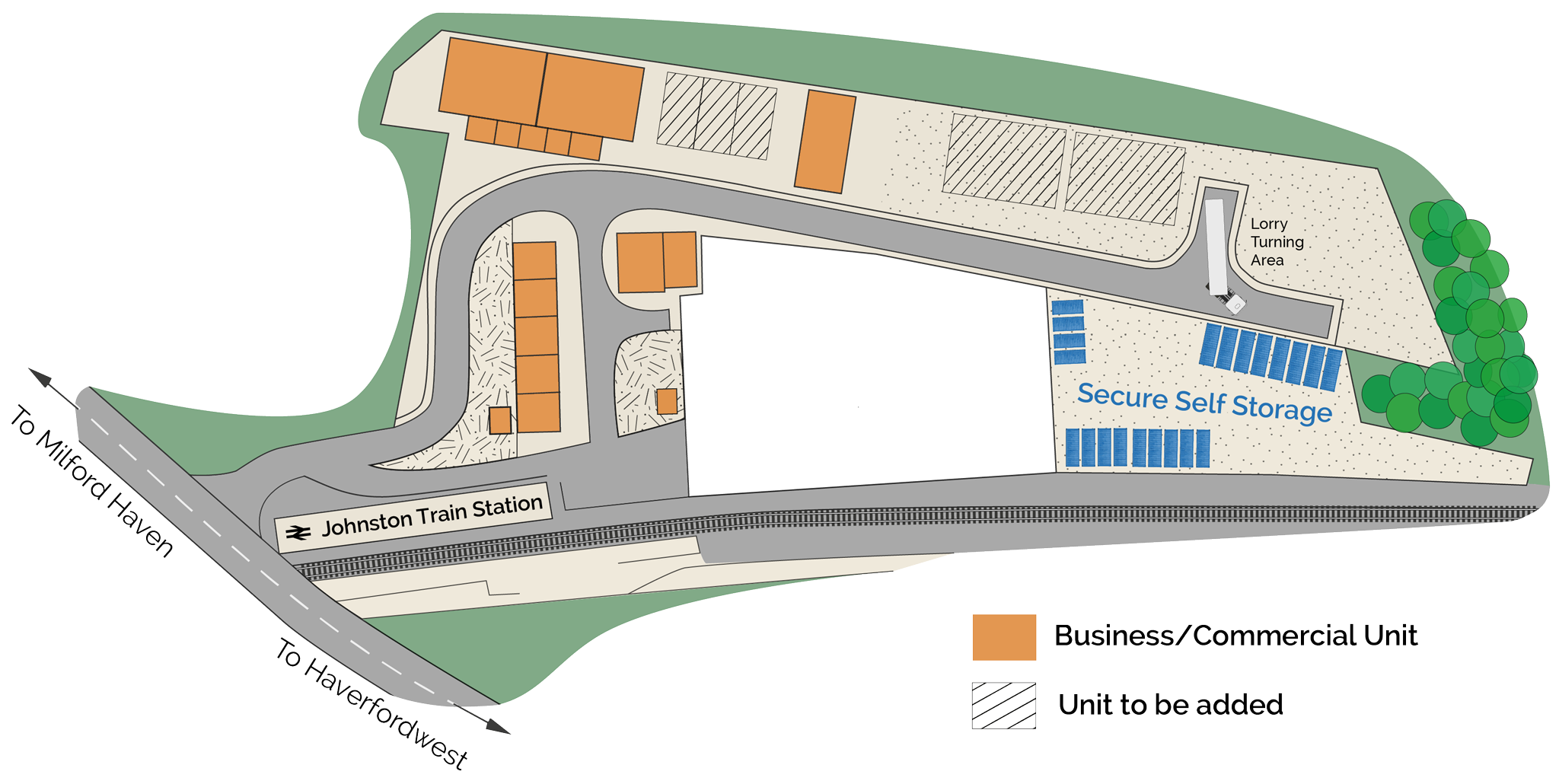 Johnston Business Park Site Map